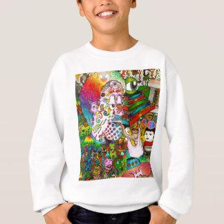 """Hang-Thinking Accident"" original art by bbqshoes Sweatshirt"