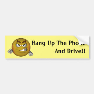 Hang Up The Phone Bumper Stickers