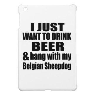 Hang With My Belgian Sheepdog iPad Mini Cover