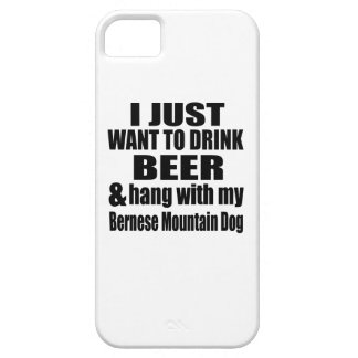 Hang With My Bernese Mountain Dog iPhone 5 Cover