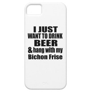 Hang With My Bichon Frise iPhone 5 Covers
