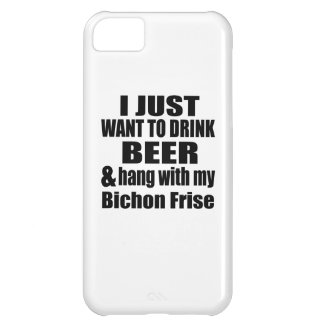 Hang With My Bichon Frise iPhone 5C Case