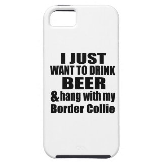 Hang With My Border Collie iPhone 5 Cases