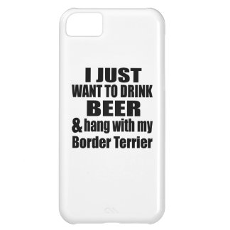 Hang With My Border Terrier iPhone 5C Case