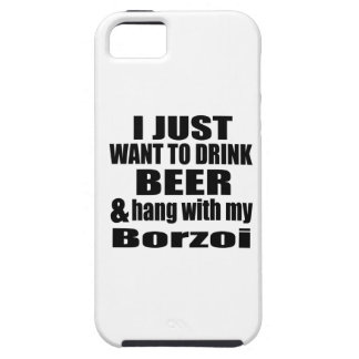 Hang With My Borzoi iPhone 5 Cases