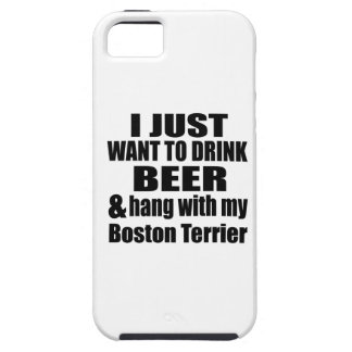 Hang With My Boston Terrier iPhone 5 Case