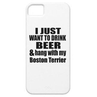 Hang With My Boston Terrier iPhone 5 Cover
