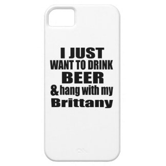Hang With My Brittany Barely There iPhone 5 Case