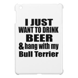 Hang With My Bull Terrier iPad Mini Covers