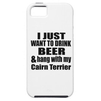 Hang With My Cairn Terrier iPhone 5 Covers