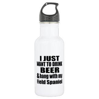 Hang With My Field Spaniel 532 Ml Water Bottle