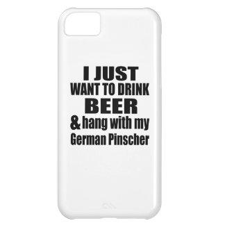 Hang With My German Pinscher iPhone 5C Case