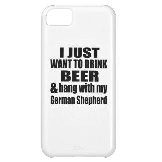 Hang With My German Shepherd iPhone 5C Case