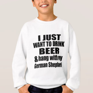 Hang With My German Shepherd Sweatshirt