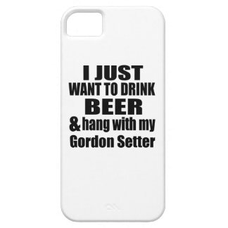 Hang With My Gordon Setter iPhone 5 Case