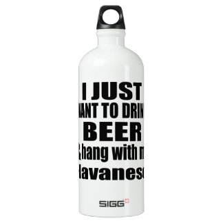 Hang With My Havanese SIGG Traveller 1.0L Water Bottle