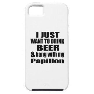 Hang With My Papillon iPhone 5 Covers