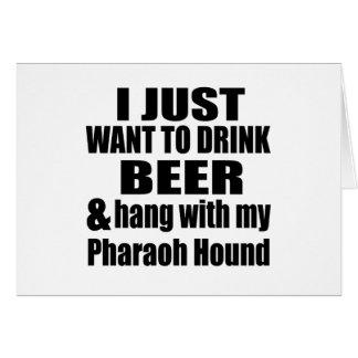 Hang With My Pharaoh Hound Card