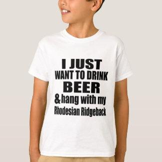 Hang With My Rhodesian Ridgeback T-Shirt