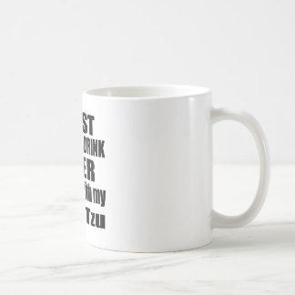 Hang With My Shih Tzu Coffee Mug