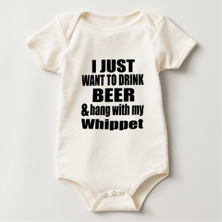 Hang With My Whippet Baby Bodysuit