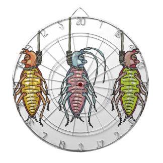 Hanged Roaches Sketch Dartboard