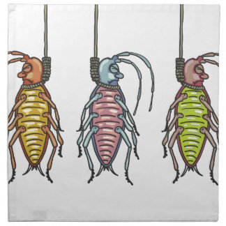 Hanged Roaches Sketch Napkin
