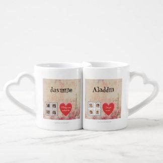 "Hanggang sa pagtanda natin. ""La Boca heart style"" Coffee Mug Set"