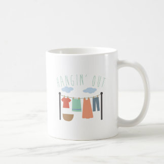 Hangin Out Basic White Mug