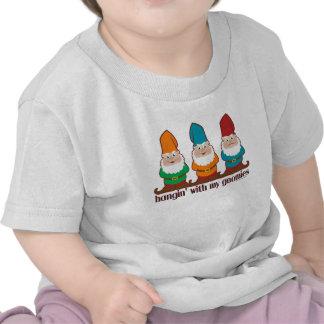 Hangin' With My Gnomies Tee Shirts