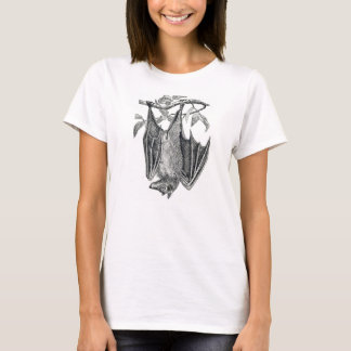 Hanging bat ladies t-shirt