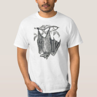 Hanging bat mens t-shirt
