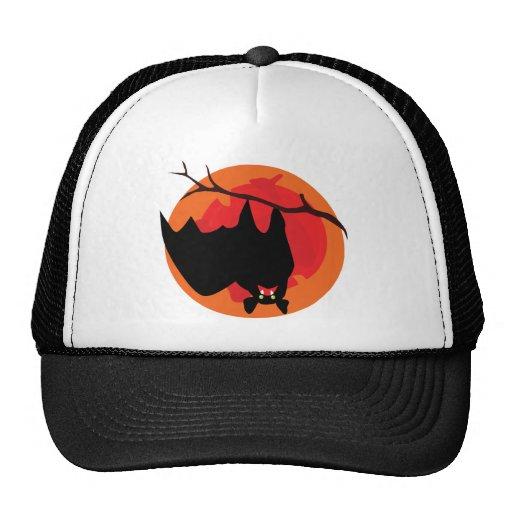 Hanging Bat Trucker Hat Mesh Hats