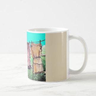 Hanging clothes mug
