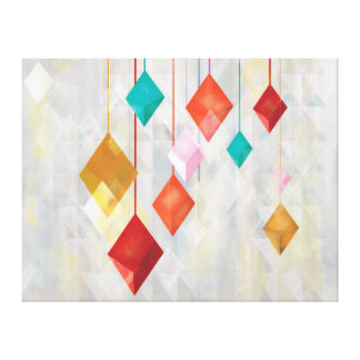 Hanging Diamonds Canvas Print