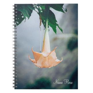 Hanging Flower | Spiral Notebook