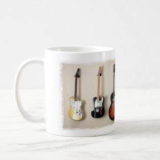 Hanging Guitars design mug