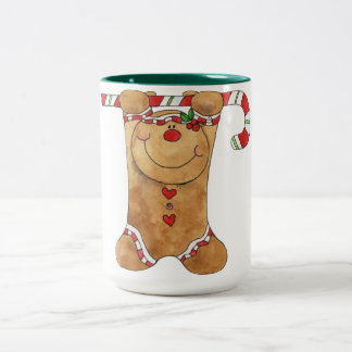Hanging In There Gingerbread Man Mug
