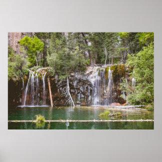 Hanging Lake Falls Poster