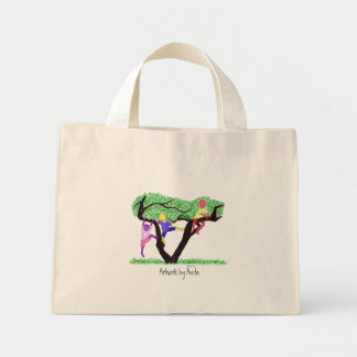 """""""Hanging out"""" Mid-Sized Tote"""