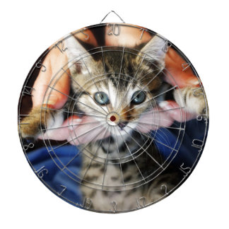 Hanging Out Tabby Dartboard