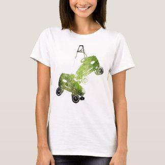 Hanging Skates Grunge T-Shirt