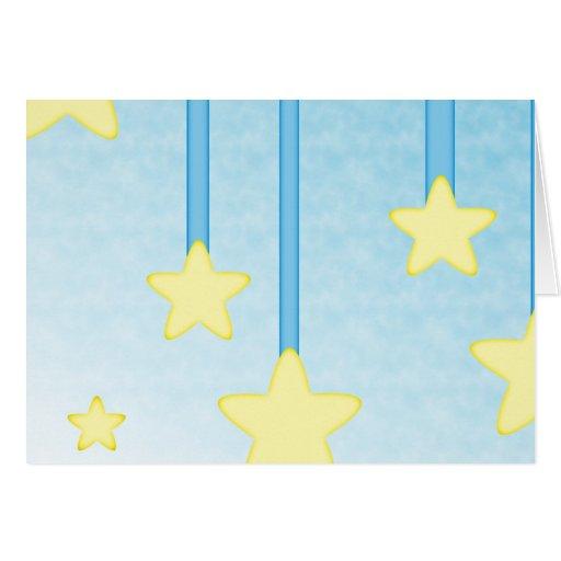 Hanging Stars Card