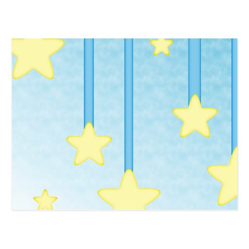 Hanging Stars Postcard