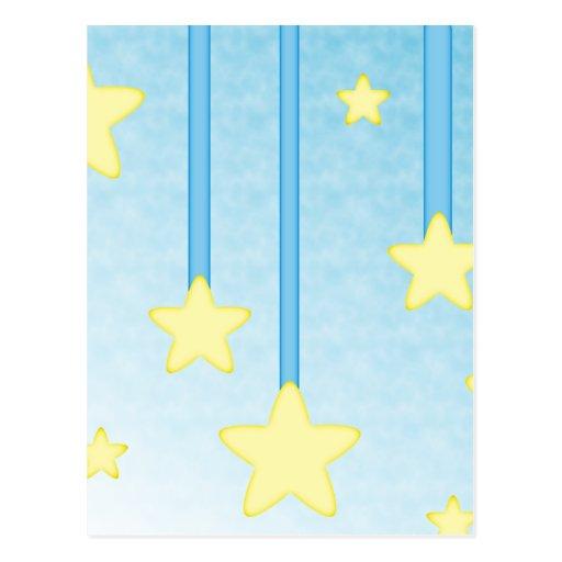 Hanging Stars Postcards