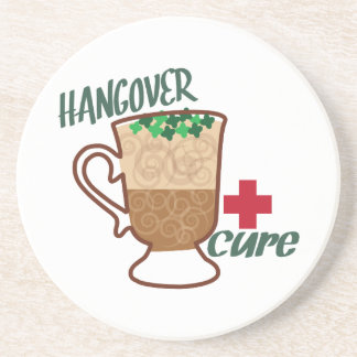 Hangover Cure Beverage Coasters