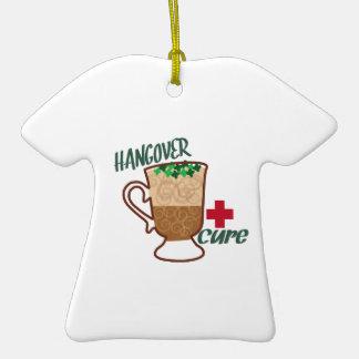Hangover Cure Ceramic T-Shirt Ornament