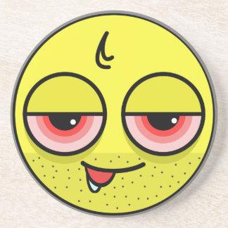 Hangover Face Coaster