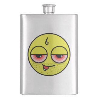 Hangover Face Hip Flask