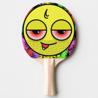Hangover Face Ping Pong Paddle